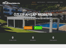 ozlerahsapmobilya.com.tr