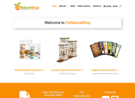 oznatureshop.com.au