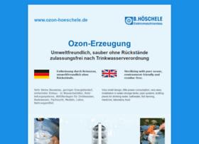 ozon-hoeschele.de