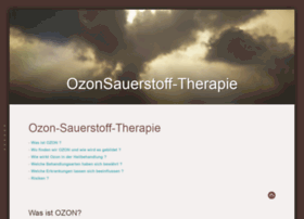 ozonsauerstofftherapie.de