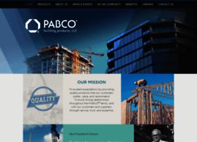 pabcobuildingproducts.com