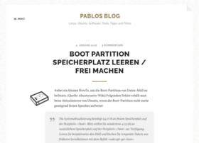 pablo-bloggt.de