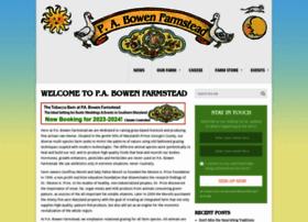 pabowenfarmstead.com
