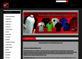 pabrikbajuseragam.com