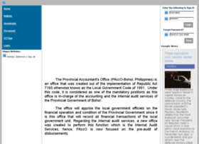 paccolive.bohol.gov.ph