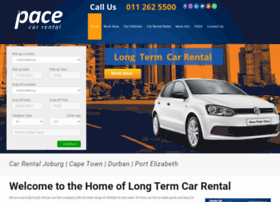 pacecarrental.co.za