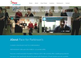 paceforparkinsons.co.uk