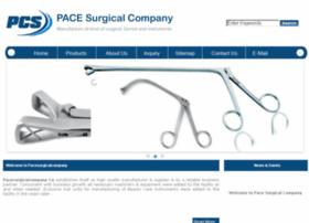 pacesurgicalcompany.com