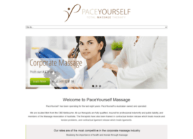 paceyourselfmassage.com.au