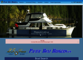 pacificboatbrokers.com