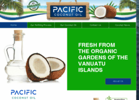 pacificcoconutoil.com