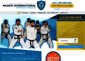 pacificinternationaltaekwondo.com.au