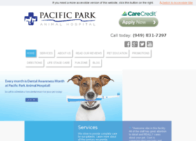 pacificparkanimalhospital.com