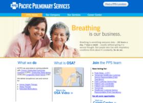 pacificpulmonaryservices.net