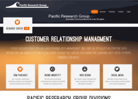 pacificresearchgroup.com