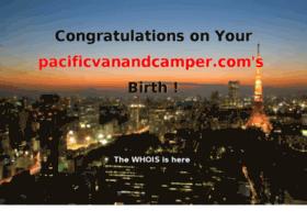 pacificvanandcamper.com