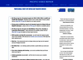 pacificvideorepair.com