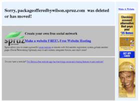 packageofferedbywilson.spruz.com