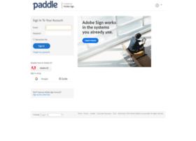 paddle.echosign.com