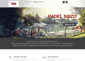padelclubsuizo.com