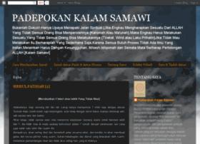 padepokankalamsamawi.blogspot.com