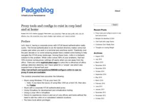padgeblog.com
