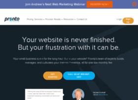page.prontomarketing.com