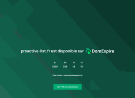 pageefficace.proactive-list.fr