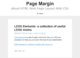 pagemargin.com