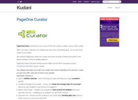 pageonecurator.com