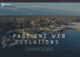 pageonewebsolutions.com