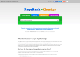 pagerank-checker.com