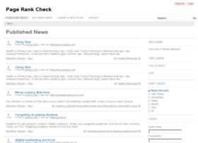 pagerankcheck.info