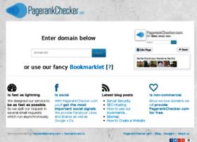 pagerankchecker.com