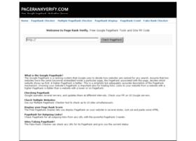 pagerankverify.com