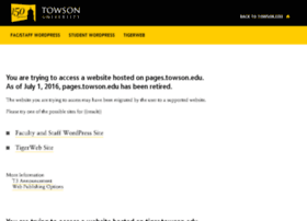 pages.towson.edu