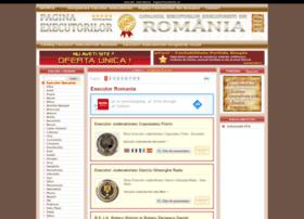 pagina-executorilor.eu
