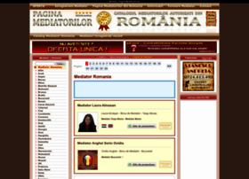 pagina-mediatorilor.eu