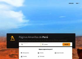 paginasamarillas.com.pe