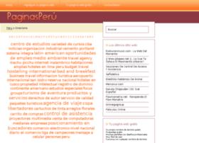 paginasperu.info