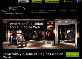 paginaswebcreaciones.com
