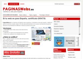 paginaswebs.es