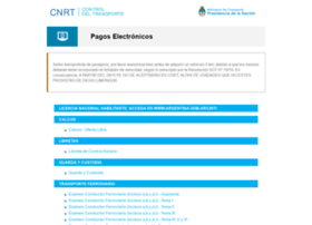pagoselectronicos.cnrt.gob.ar