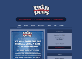 paidduesfestival.com