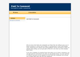 paidtocomment.com