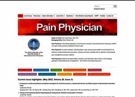 painphysicianjournal.com
