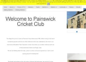 painswick.play-cricket.com