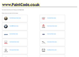 paintcode.co.uk