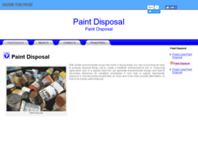 paintdisposal.org