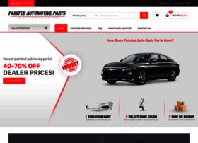 paintedautomotiveparts.com